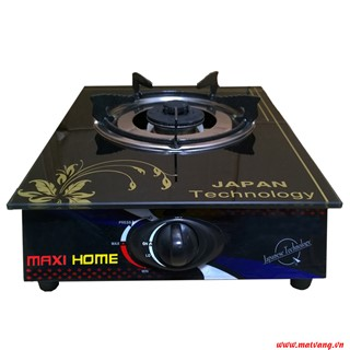 One-burner glass surface gas stove